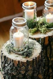 Decorated Jars For Weddings Mason Jar Wedding best 100 mason jar centerpieces ideas on 49