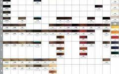 Rusk Deepshine Color Chart Rusk Color Chart Chart Color