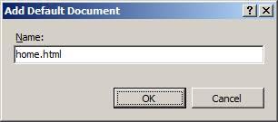 Default Document <defaultDocument> | Microsoft Docs