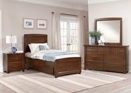 V Watts Furniture Transitions Dark Cherry Full Storage Bed