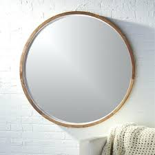 round leather mirror leather strap mirror melbourne