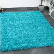 Vimoda Prime Shaggy Farbe Türkis Hochflor Langflor Teppiche Modern