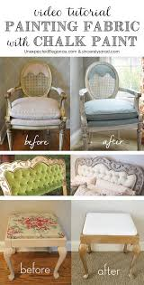 fabric paint for furnitureBest 25 Chalk paint fabric ideas on Pinterest  Painting fabric