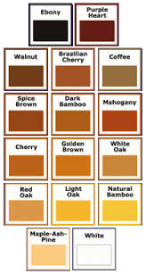 Timbermate Color Chart Famowood Color Chart A M Supply Corporation