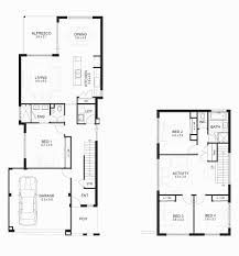 3 bedroom house floor plans best of 2 story elegant 9 small uk 4 6