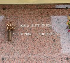 Lorna Merle Richards Stevenson (1924-2004) - Find A Grave Memorial