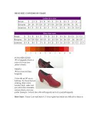 Shoe Size Chart 10 Free Templates In Pdf Word Excel Download