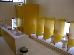 Preschool bathroom Bathroom Sink Will Say That This Bathroom Dreamstimecom Xin Hu Kindergarten On The Eastern Journey