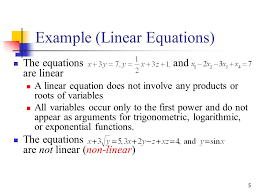 review on linear algebra ppt