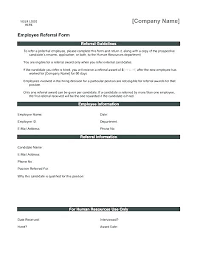 Referral Program Template Agreement
