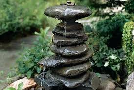 rock garden fountain outdoor fountain ideas how to make a garden fountain for your backyard rock rock garden fountain