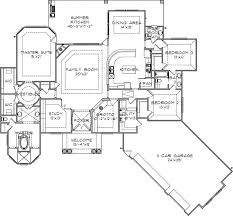 711 best floor plans images on pinterest dream house plans, home Open Plan House Design Nz grotto for a man cave florida style house plans 2915 square foot home, 1 story, 3 bedroom and 2 3 bath, 3 garage stalls by monster house plans plan open plan house design nz
