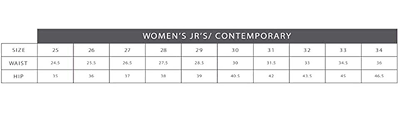 Womens Jeans Sizing Chart William Rast Womens Willliam Rast My Exs Jean At Amazon