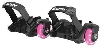 Купить <b>Ролики</b> на обувь <b>Razor Jetts Mini</b> - Розовый по низкой ...
