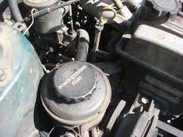 how to replace a power steering rack checking and filling power steering fluid