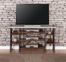 65 Inch Contemporary TV Stand - Steampunk