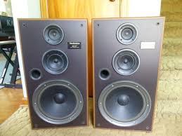 vintage technics speakers. vintage technics sb-lx7 wood cabinet 3-way speaker system speakers #technics i