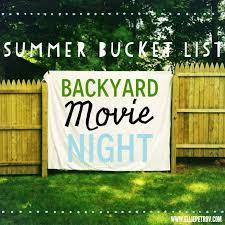 Movie Backyard