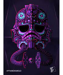 Exclusive Artwork: 'Star Wars' Day of the Dead | Star wars painting, Star  wars poster, Star wars art