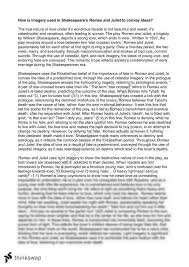 romeo and juliet essay year wace literature thinkswap romeo and juliet essay