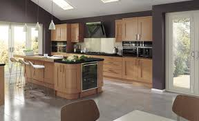 Oak Kitchen Madison Contemporary Oak Kitchen Stori