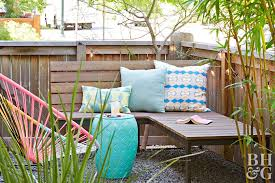 Cheap Backyard Ideas Better Homes Gardens Unique Spray Painting Patio Furniture Remodelling