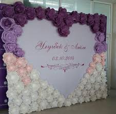 Paper Flower Wedding Backdrops Paper Flowers Wedding Backdrop Ideas Weddinginclude