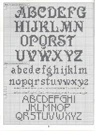 Cross Stitch Alphabet Patterns Gorgeous ALPHABET PATTERNS Cross Stitch Alphbets Pinterest Patterns