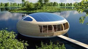 qui n a jamais rêvé d une maison qui flotte sur l eau en tout cas c est ce dont l architecte italien giancarlo zema a pensé et on pourra dire que c est