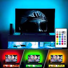tv accent lighting. LED TV Backlight, Maylit(tm) Neon Accent Lights Strips For 60\ Tv Lighting