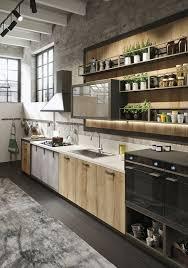 Industrial Kitchen Flooring Loft Snaidero Cucine Cucina Moderna Con Un Design Unico
