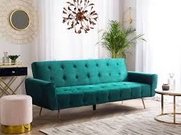 velvet sofa bed sofa bed green