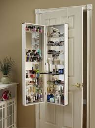 small bathroom makeup storage ideas. Makeup Vanity Cabinets Over Door Organizer The For Bathroom Plans 15 · Best Ideas Designs Small Storage S