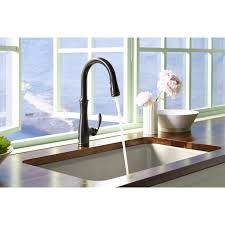 Shop Kohler K 560 Bellera Pull Down Kitchen Faucet With Docknetik