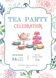 Tea Party Free Printables 004 Tea Party Invitation Template Partyinvitation28129