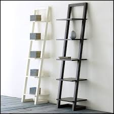 Furniture:Ikea White Ladder Shelf Ikea White Ladder Shelf Narrow Bookcase