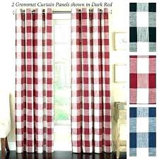 buffalo check shower curtain red plaid curtains post fabric black grey and white