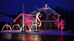 Christmas Light Show Amazing Grace Techno Trans Siberian Orchestra Wizards In Winter Greatest