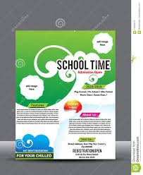 How To Design A Poster For School School Or Collage Flyer Or Poster Design Template Stock