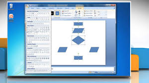 How To Make A Flowchart In Powerpoint How To Make A Flow Chart In Powerpoint 2007