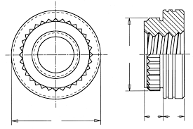 FASTENERS FOR USE WITH <b>PC</b> BOARDS