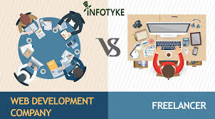 design freelancer freelancers vs web development company choosing the right