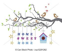 New Home Cartoon Images Home Sweet Home New House Card