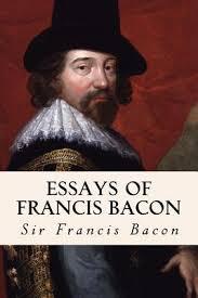 as an essayist bacon as an essayist