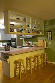 Small Picture Kitchen Painted Kitchen Cabinets Before And After Painting