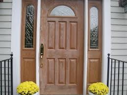 refinish fiberglass exterior door