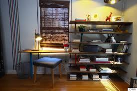 diy desk and shelf.