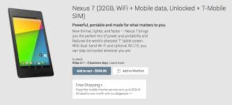 nexus 4 sim card size nexus 7 2013 lte variant available now for 349 droid life