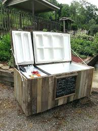 best outdoor refrigerator drawers old fridge cooler ideas on bar glass door