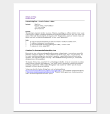 Literature Review Outline Literature Review Outline Template 20 Formats Examples